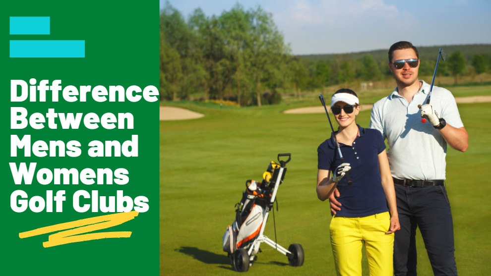 Difference Between Mens and Womens Golf Clubs